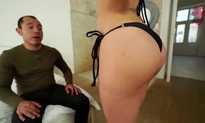 Santy, mexican copulates hot jasmine jae in the a-hole