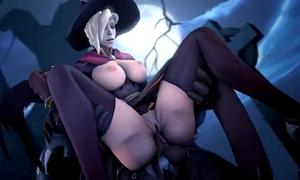 Mercy overwatch animation #3