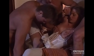 Roxanne hall, 3 cocks more excellent than one...