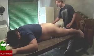 Shaking slit into the garage. raf065