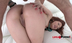 Redhead doxy jennifer fucked into ass by three fellows & dp'ed sz1271
