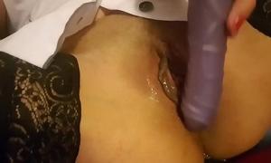 Pepina chilena reina del porno dilettante dedea mete aji in a-hole