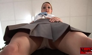 Horny school horny white wife masturbates upskirt white panty tease