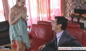 Blonde mastix julia ann receives facialized