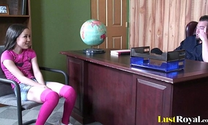 Petite cutie amai liu acquires a bonking session