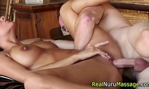Fetish masseuse rides