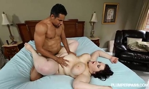 Goth breasty plumper kitty mcpherson is group-fucked by black ramrod