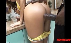 Negroed.com obscene white tattoo horny white wife taking large dark black dude 10-Pounder up her anus