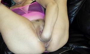 Inflatable vibrator blowout!