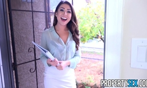 Propertysex - hot youthful real estate agent uses cookie to acquire client