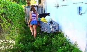Hannah wrong hood social(full video)-half two of two