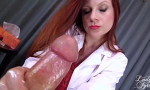 Doctor's viagra boner cure: full movie scene hj by slutty wife fyre femdom