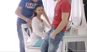 eighteen virgin sex - eighteen year old nastya