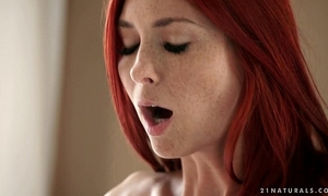 Freckled kattie gold likes anal sex