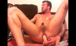 Me riding a sex-toy