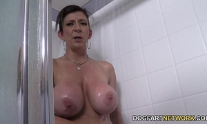 Sara jay copulates stud whilst her guy toy sees