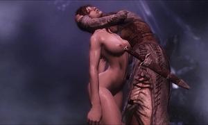 Vampire feeding