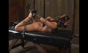 """Satine phoenix - ideal thrall """"hogtied and fucked"""" 02/25/2007"""