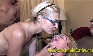 Creampie orgy fuckfest