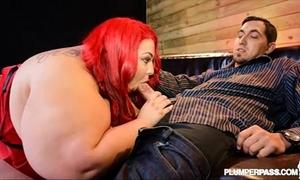Ssbbw jaymez ryder bonks bachelor at bbw undress club