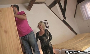 He is tempted by concupiscent mother-in-law