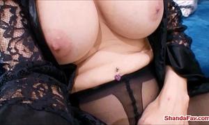 Canadian crotchless stocking whore! shanda fay!