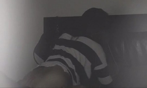 Fucking roommate on hidden camera/roommate plays with my booty whilst engulfing ramrod