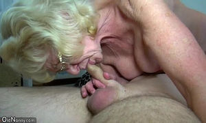 Oldnanny slender old grannies and juvenile marvelous gals is masturbating