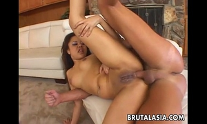 Wild japanese doxy asa akira can't live without being booty screwed hard