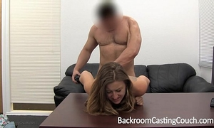 Cheating girlfriend fucked into ass and facialed