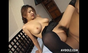 Busty japanese sweetheart wishes it hard