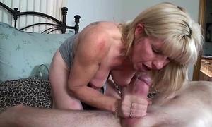 Carol cox rides a priceless thick ramrod