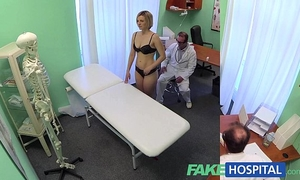Fakehospital fresh doctor receives slutty milf bare and soaked with want