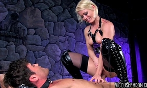 Ash hollywood and lance hart femdom cbt fucking castration