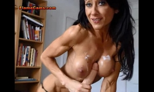 Milf fitness tutor has a cum fetish