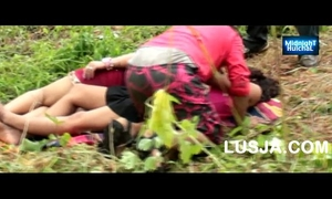 One dude romance with telugu cuties outdoor