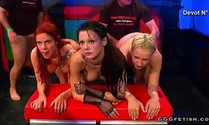 Sexual fuckfests around bars