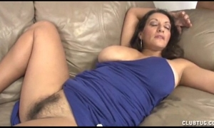 Busty milf cook jerking and snatch rubbing