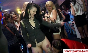 Hottest euro euro non-professional gobbles pecker on dancfloor