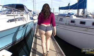 Butt fucking the biggest arse wife @ hell porno