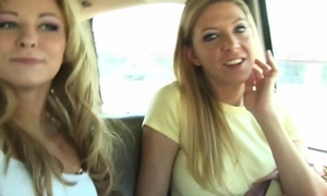 two gals oral-sex
