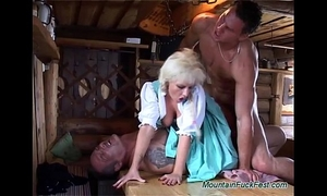 German heidi needs double penetration