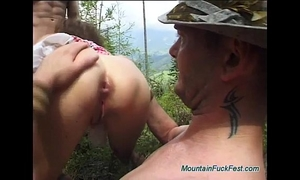 Rough german anal mountain orgy