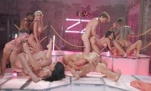 Massive orgy and hardcore porn fuckings