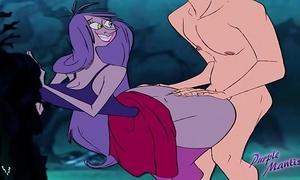 Mad madam mim - large butt wizards duel - purplemantis