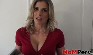 Stepmom cory follow engulfing a large weenie in pov style