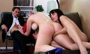 Dana dearmond and siri having perverted lesbo sex