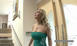 Mature wench tanya tate bonks and takes the cum on her love bubbles