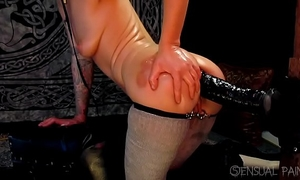 Anal joy with zilla strapon short reduced