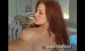 Redhead was screwed in wellness-room